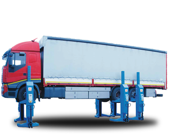 Wireless Electro-Hydraulic Mobile Column